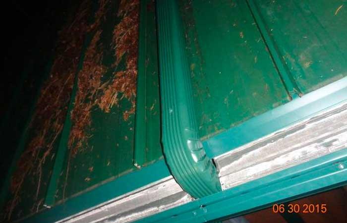 Enclosed gutter system