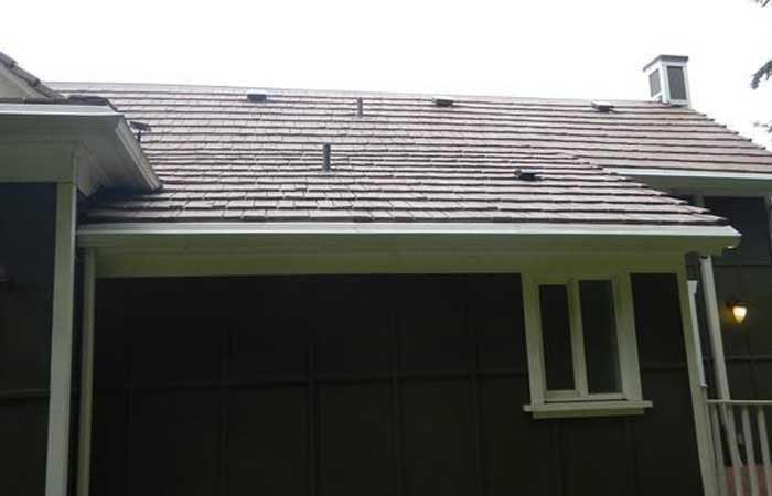 new roof, new gutters